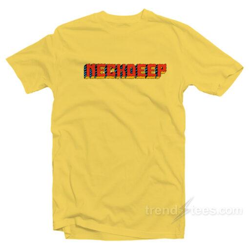 Neck deep Merchandise T-Shirt