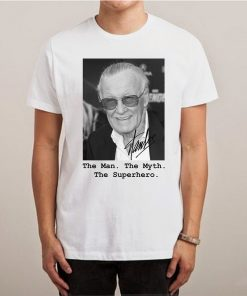 The man The Myth The Superhero Remember Stan Lee Dies T shirt 247x296 - HOME 2
