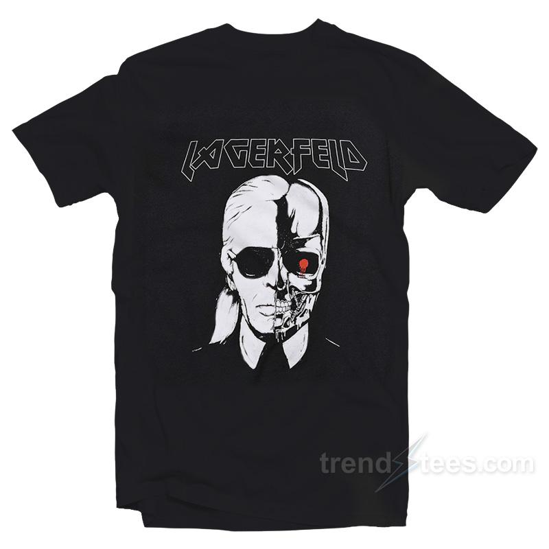 c031d4d50 Stylestalker Karl Lagerfeld Metal T-shirts - Trendstees.com