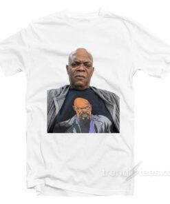 Samuel L. Jackson wearing a t shirt of himself wearing white 247x296 - HOME 2