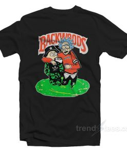 backwoods rick and Morty T Shirt 247x296 - Backwoods Rick and Morty T-Shirt