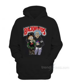 Backwoods Rick and Morty Hoodie