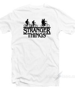 Stranger Things Bike T-Shirt Upside Down