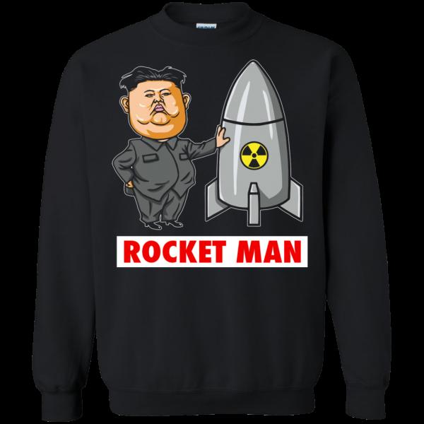 Trump Called Kim Jong Un Rocketman sweatshirt