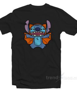 Disney Stitch Bat Halloween Costume T-Shirt