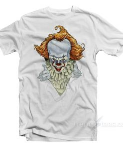 pennywise the clown shirt