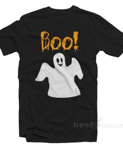 Boo Ghost Shirt Halloween Shirt For Adults