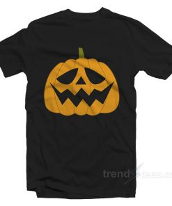 Jack o Lantern Halloween Shirt For Adults