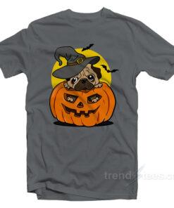 pug halloween SHIRT