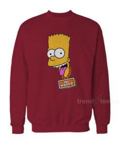 Bart Simpson Hi Hater Sweatshirt 247x296 - HOME 2