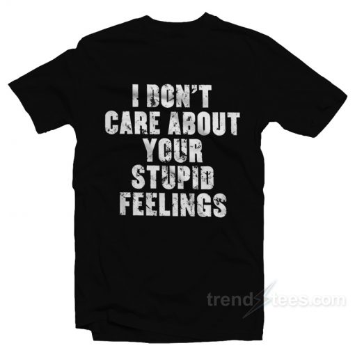 Becky Lynch I Dont Care About Your Feelings Authentic T-Shirt