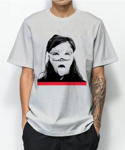 Bjork Tongue T-shirt For Unisex