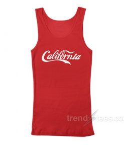 California Cola Red Tank Top