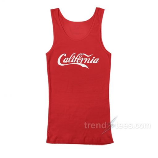 California Cola Red Tank Top