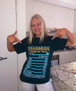 Bahamian Nutritional Facts T-Shirt