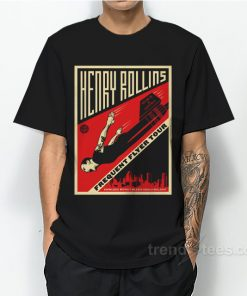Frequent Flyer Henry Rollins Band T-Shirt