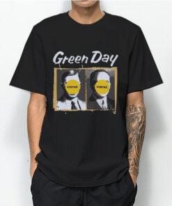 Green Day Nimrod Album Logo T-Shirt