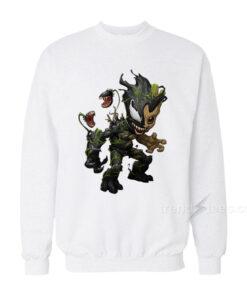Baby Groot Venom Sweatshirt