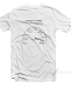 Introvert Not To Be Confused With I Don't Like You T-Shirt