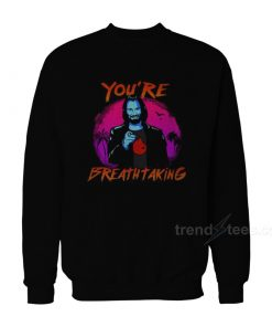 Keanu Reeves You're Breathtaking John Wick sweatshirt 247x296 - HOME 2