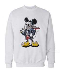 Jason Voorhees Mickey Mouse Sweatshirts