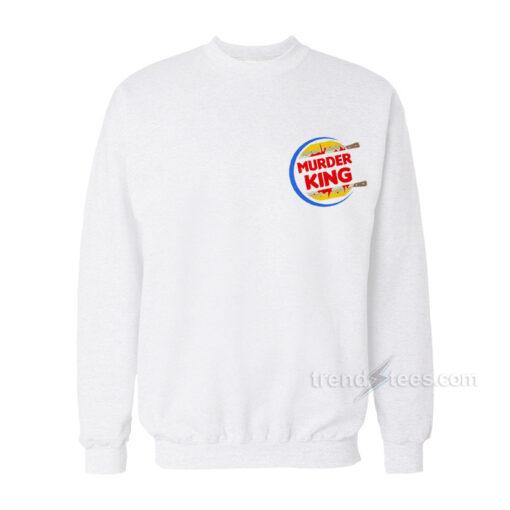 Murder King Logo Parody Sweatshirt