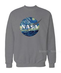 NASA Van Gogh Grey Sweatshirts