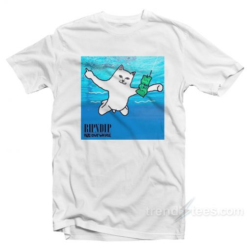 RIPNDIP Lord Nermal Nirvana T-Shirt
