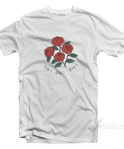 Rose Die White T-Shirt