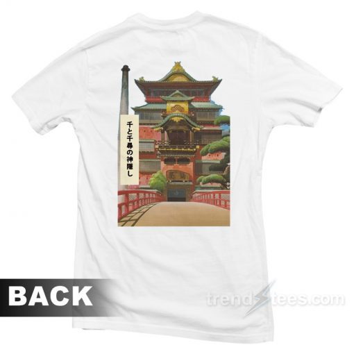 Studio Ghibli Spirited Away Bath House T-Shirt