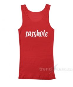 Sasshole Red Tank Top