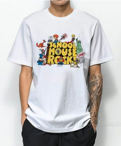School House Rock Cartoon Education Teacher Cool T-Shirt