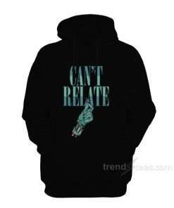 Star Zombie Can't Relate Hoodie