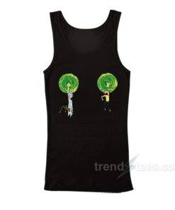 Rick and Morty Boob Warp Tank Top