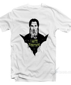 The Addams Family I Hate Everything T-Shirt