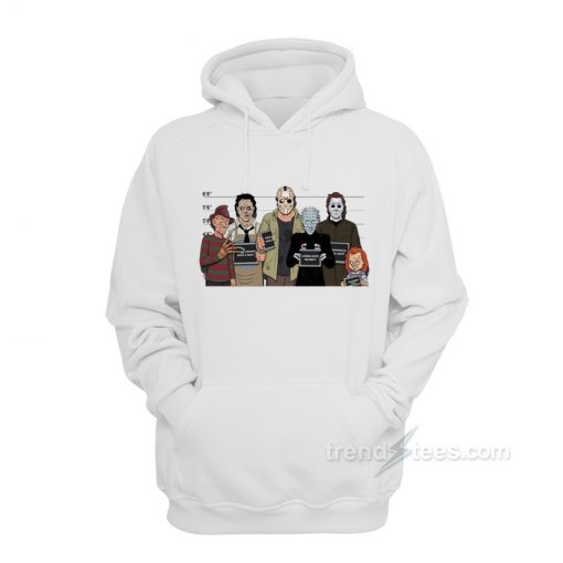 The Usual Horror Suspects Classic Halloween Hoodies
