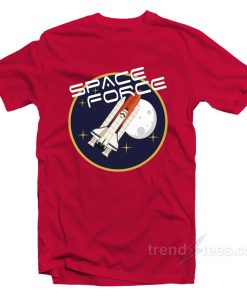 USSF United States Space Force Rocketship T-Shirt
