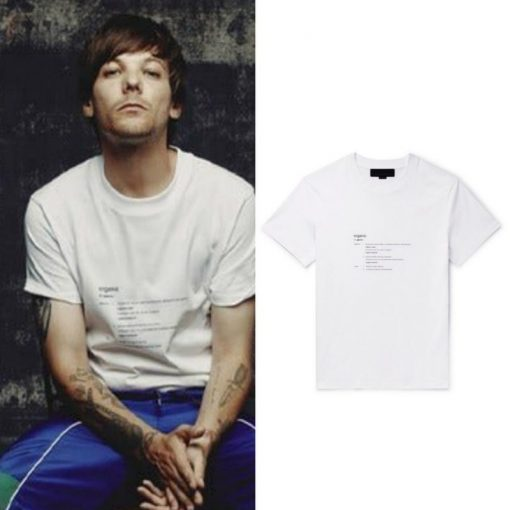 Louis Tomlinson Organic T-Shirt
