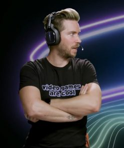 Troy Baker Video Games Are Cool T-Shirt