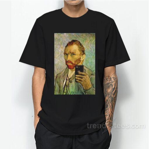 Vincent Van Gogh Selfie Portrait T-Shirt