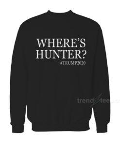 Where's Hunter Sweatshirt