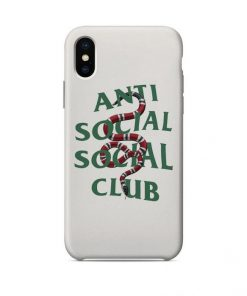 ASSC Anti Social Social Club x GC Snake iPhone Cases