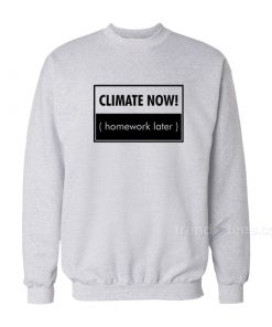 Climate Now Sweatshirt