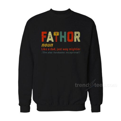 Fathor Avengers Sweatshirt