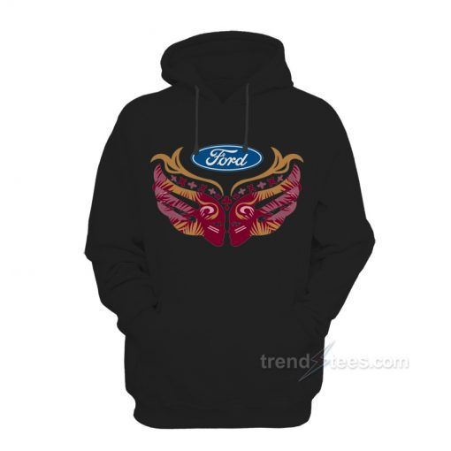 Ford Cares Warriors In Pink Hoodie