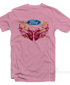 Ford Cares Warriors In Pink Shirt
