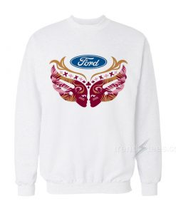 Ford Cares Warriors In Pink Sweatshirt