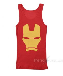 Iron Man Mask Avengers Marvel Comics Tank Top