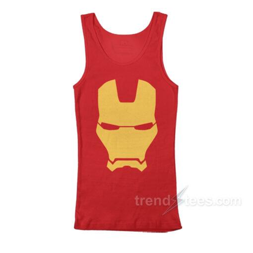 Iron Man Mask Avengers Marvel Comics Tank Top