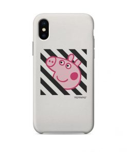 Off White Peppa Pig iPhone Case
